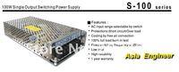 Промышленный источник питания 12V DC 8.5A 100W Regulated Switching Power Supply