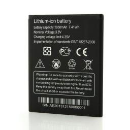 1950mah литий ионная батарея для смартфона thl t5