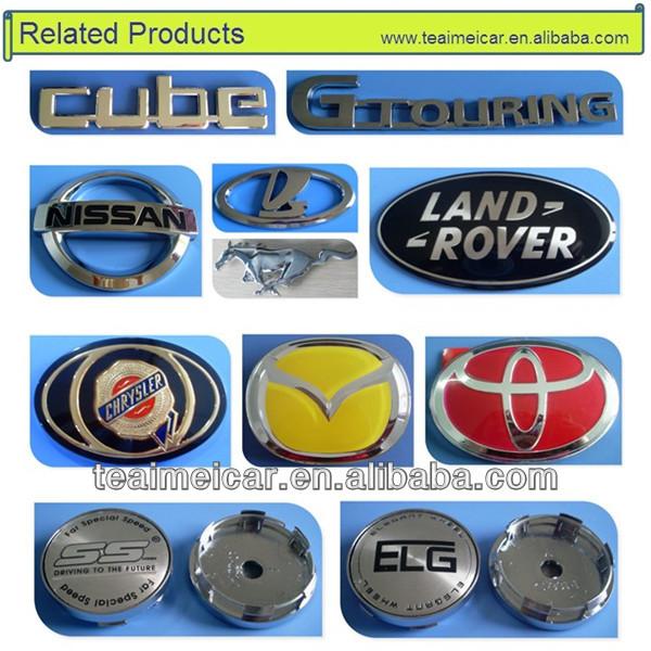 2015 Jaguar metal stand up emblem auto badges hood chrome car logo