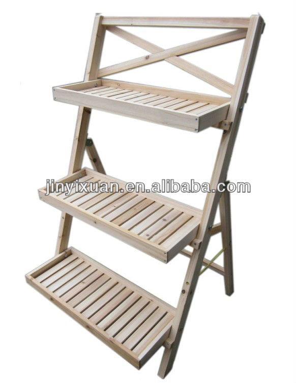 piedestal jysk ~ wood plant shelves diy wooden plant stands wood tiered