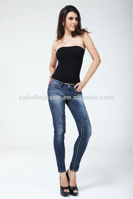 2012 New Design Sexy Lady Jeans
