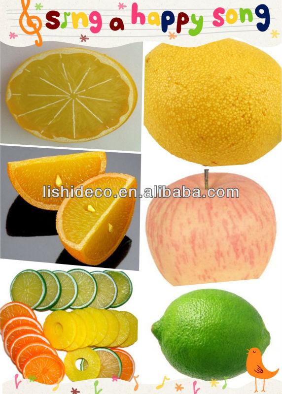 Simulation fruit plastic green Apple fake green apple