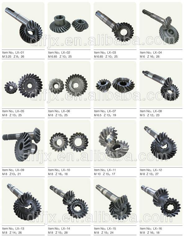 spiral gear 11