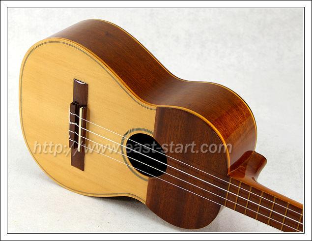 Handmade Acoustic Cuatro 4-string All Solid Venezuelan Cuatro