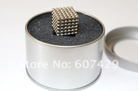 Неокубы, Кубики-Рубика 216Pcs D3mm Buckyballs Magnetic Balls Beads Sphere Cube Puzzle Neocube With Tin Box, Intelligence Toys