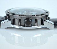 Наручные часы 2012 Fashion Mens Hollow Black Watch Man Auto Mechanical Wristwatch Men sports watch