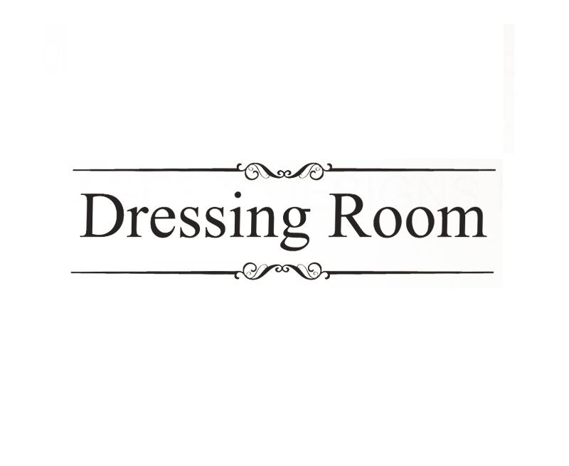déco stickers dressing