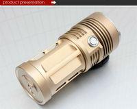 Светодиодный фонарик 2000LM 3 x T6 XML CREE LED Flashlight Torch Searching Light, 5 Mode
