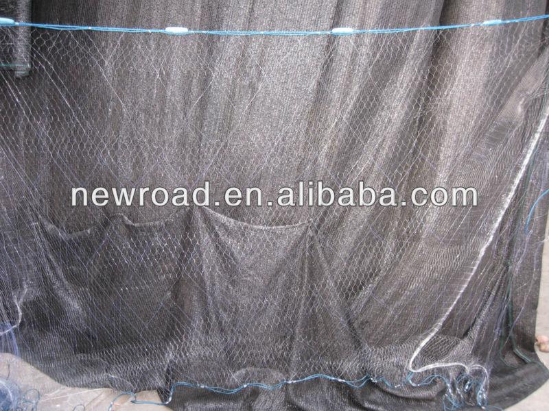 Trammel net 3 layers Fishing Net PA with factory price Guangdong, China Maker