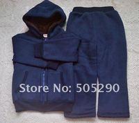 2012 /girls boys suit/children suit thick/sport suit/autumn winter /FREE SHIPPING