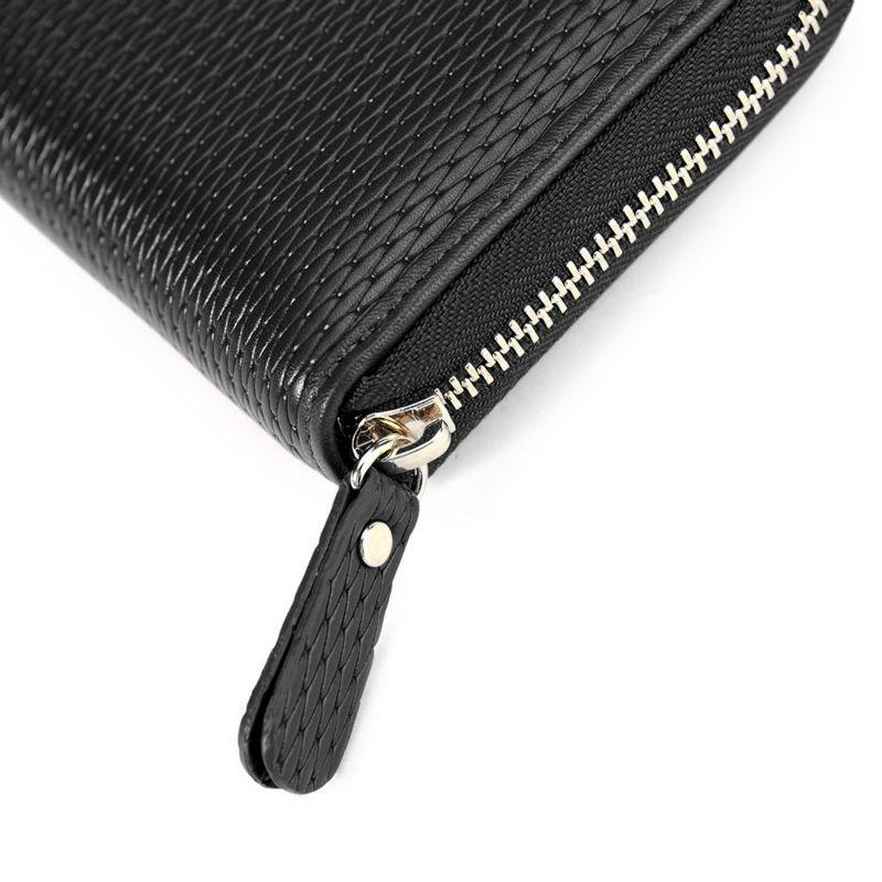 Black Ladies Wallet Purses