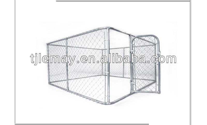 10x10x6foot cheap large metal decorative dog kennels