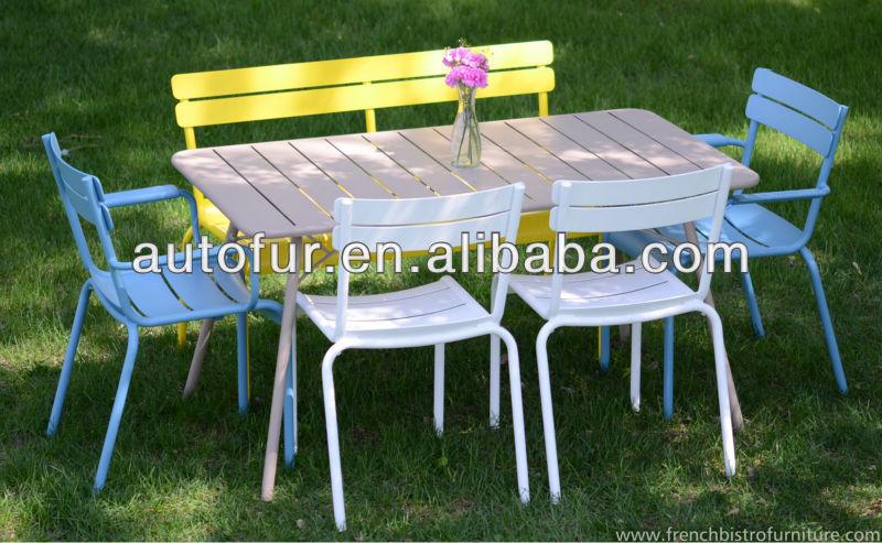 color industrial mobilier dextrieur en mtal chaises de jardin - Chaise Jardin Colore