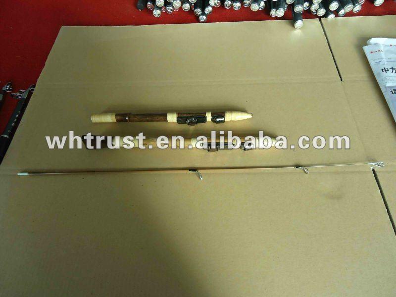 Bamboo ice fishing rod