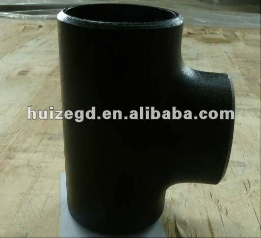ASME B16.9 Carbon steel 45 Degree Welded Lateral TEE