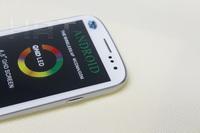Мобильный телефон 4.8 inch Android 4.1 OS Smartrphone RAM 1GB/ROM 4GB S3 i9300 1:1 dual SIM Cards MTK6577 QHD 960x540Pixels
