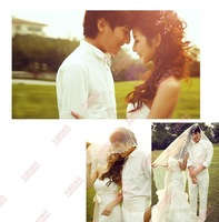 Free shipping,hot moden wedding veil gown.lace wear.lady wedding dresses.fashion.cheap.night gown