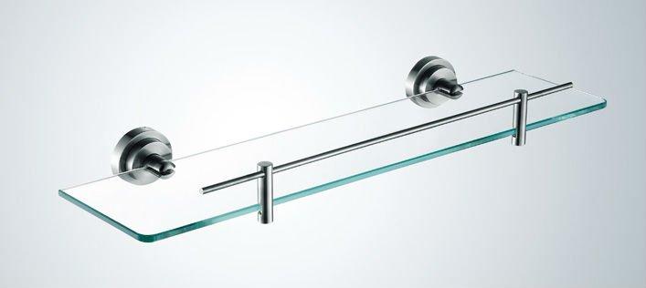 fornitore fabbrica in acciaio inox mensola di vetro progettista doccia caddy bagno rack
