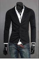 Мужской свитер кардиганы из трикотажа v-образным вырезом тонкий случайные свитер x 01