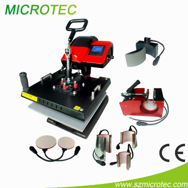 Flat T-shirt Heat Press Machine