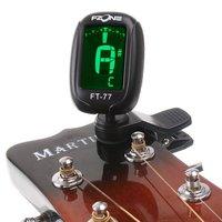 черный lcd клип гитары тюнер электронной цифровой хроматический Бас Скрипка укулеле i101b