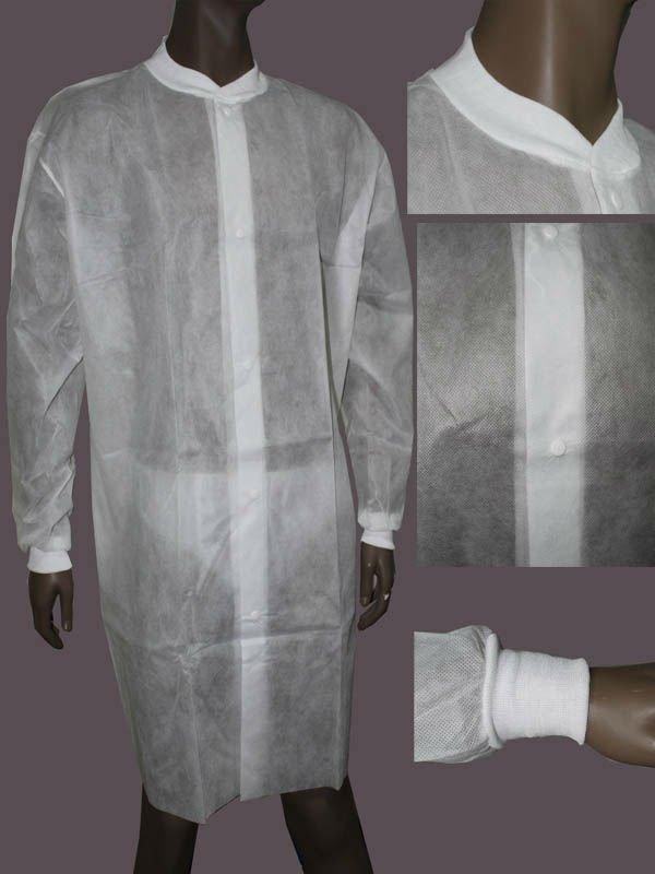 Non Woven Anti Static Pp Lab Coats Buy Non Woven Anti