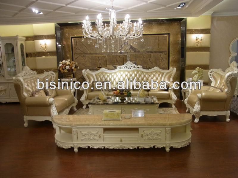 Wohnzimmermobel Vintage : Luxus wohnzimmermöbel europäischen stil ledercouchgarnitur