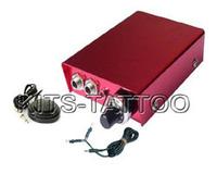 Клип-корды, Блоки питания для татуировочных машин new red Mini Power equipment with Clip cord and Foot Switcher for tattoo machine supply