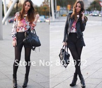 Free shipping 2012 spring New style 100% chifoon fashion 1pcs/lot women's T-Shirt fashion blouses