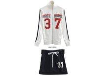 Женская куртка 2012 New Women Autumn Mandarine Collar Jacket+Skirt Suit Two piece/Set Casual NO 7 Sport Wear Good Jogging Suit