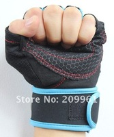 KHuiten high quality Riding driving Fitness sports gym training gloves half finger Non-slip wrist protect multifunction Durable