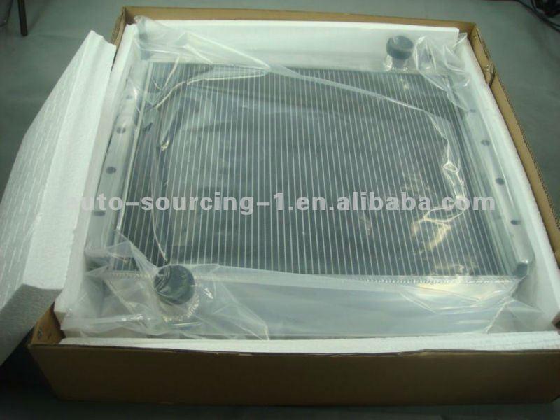 Aluminum Radiator Fit Toyota Supra Turbo Twin L6 3.0L MT 86-93 7MGTE 50mm Core