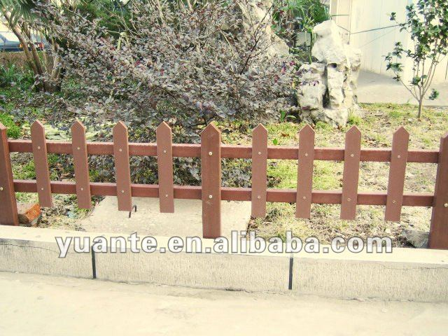 Outdoor and eco-friendly wood plastic composite WPC fence