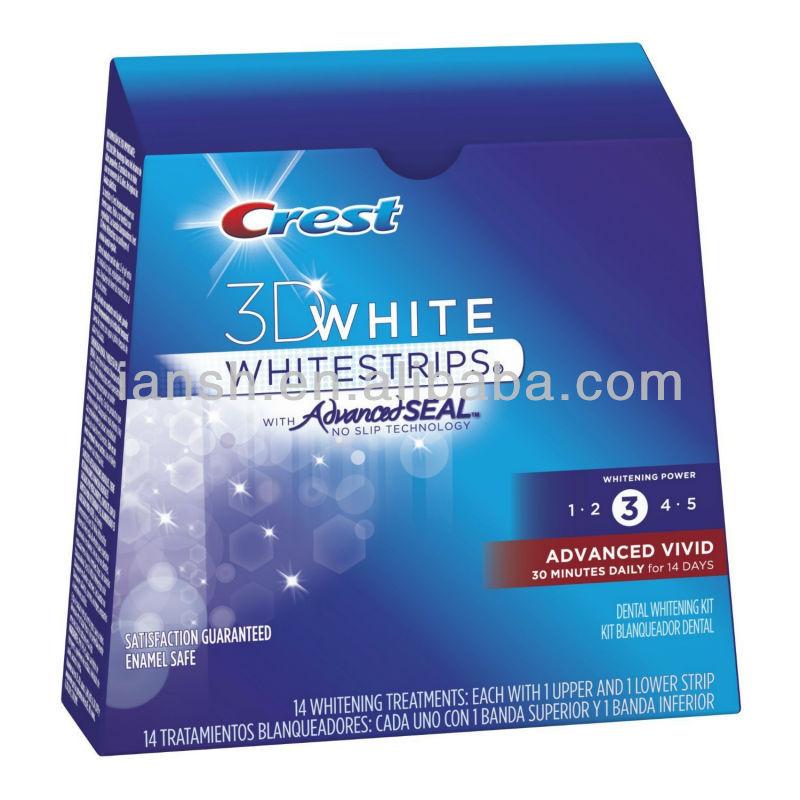 Crest 3D Whitestrips Advanced Vivid teeth whitening strips