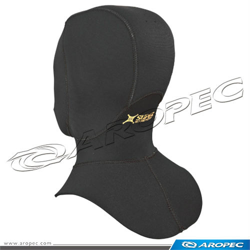 Ninja-3mm Nylon/Super-Stretchy Neoprene dive hood