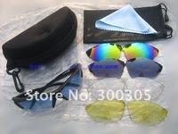 Женские солнцезащитные очки Bike Bicycle Cycling Glasses Sunglasses, 5 color lens Sport Sunglasses Glasses, Cycling Bike 5 color glass