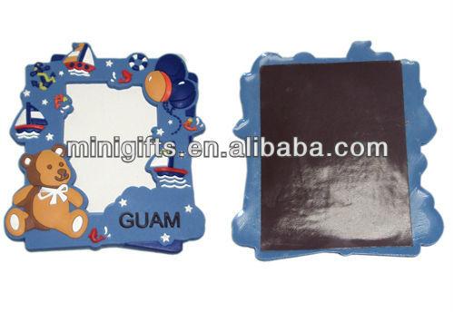 3D soft PVC rubber fridge magnet, fridge magnet sticker; rubber refrigerator magnet;