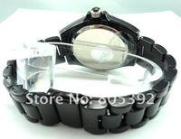 Luxury Hot Sell Women's Full Crystal Black Ceramic Quartz Watch--2 colors