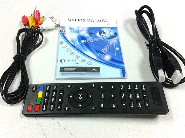 2013 Ghana hot selling q-sat q11g hd decoder for dstv with usb wifi
