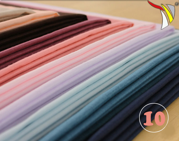 wholesale 100% cotton fabric worsted cotton fabric