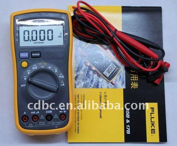 Hot Digital Multimeter Fluke 15B Capacitance and Inductance