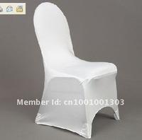 белый спандекс лайкра стул крышка для свадеб
