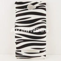 Чехол для для мобильных телефонов New Zebra Black and White Snap On Hard Plastic Case Cover Skin Case For Windows Phone Htc 8s