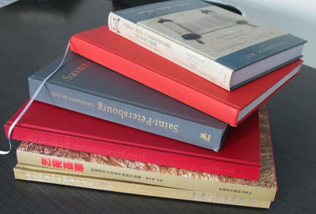 L'impression de livres à couverture rigide de service