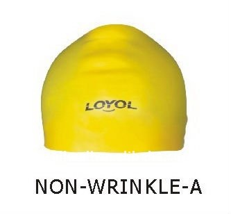 Silicone Non-Wrinkle Swimming Cap
