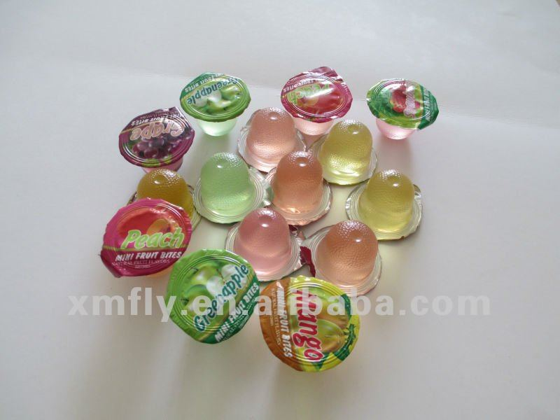 natural mini fruit jelly&pudding in cup