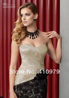 free shipping Hot Sweetheart Floor length HandmadeFlower jacket  Mother Of The Bride Dresses