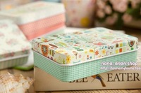 Упаковочные банки Fairy Tale Style gift tin box/ Make Up Box/ storage box/ storage set/ gift box/ Korean Stationery