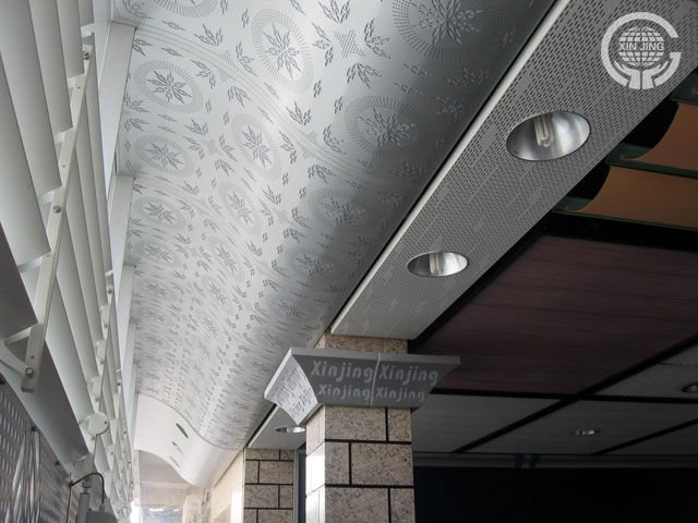 decorative aluminum false wall panel-column decoration