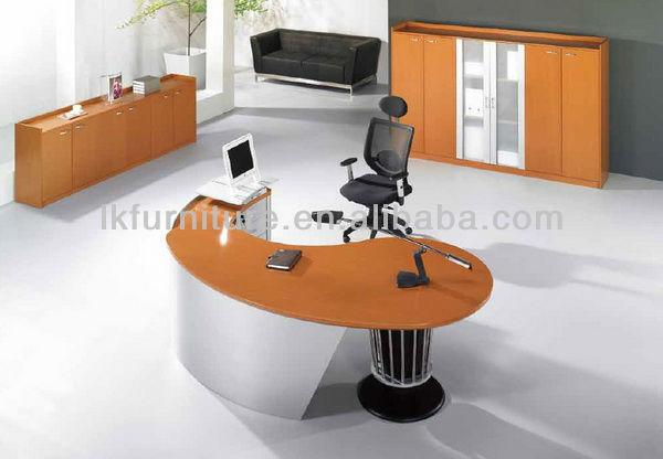 عالية الجودة طاولة مستديرة في النهاية القشرة الخشبية